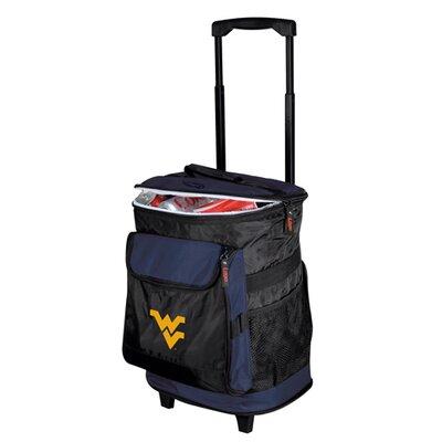 Collegiate Rolling Cooler - West Virginia