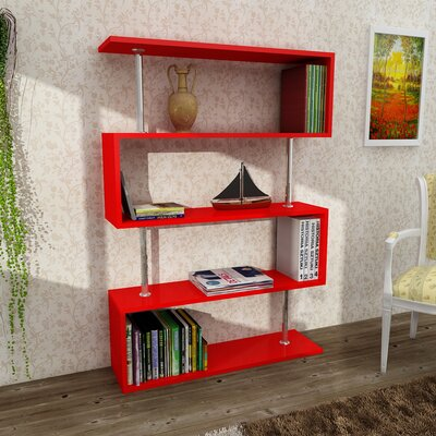 O'Neil Modern Cube Unit Bookcase Finish: 35'' x 51'' x 10''