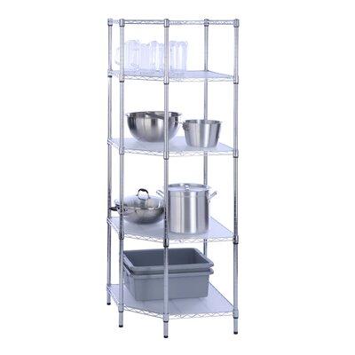 """72"""" H Four Shelf Shelving Unit"""