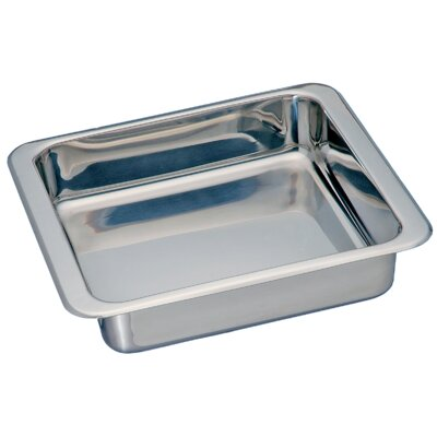 Square Stainless Steel Pan