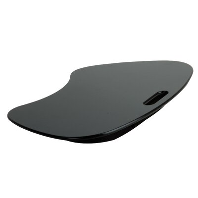 Laptop Desk Finish: Black