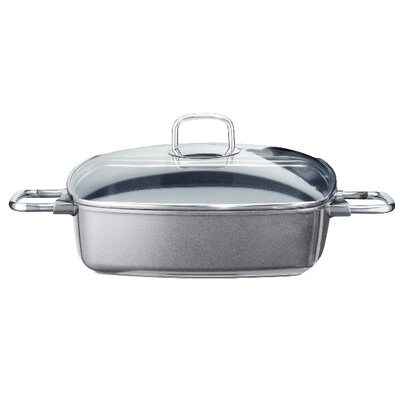 ELO Pure Solution 28cm Non Stick Square Vacuum Die-Cast Aluminium Serving Pan