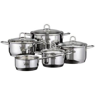 ELO Rubin 5-Piece Stainless Steel Cookware Set