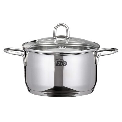 ELO Ruby Stock Pot with Lid