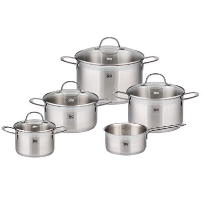 ELO Top Collection 5-Piece Stainless Steel Cookware Set