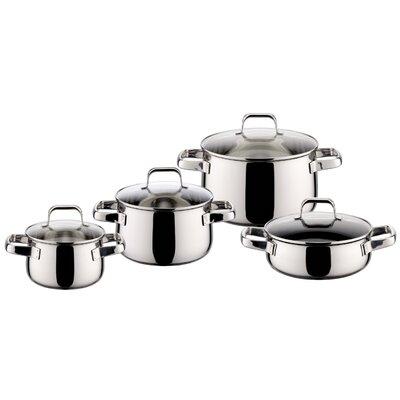 ELO Shape 4-Piece Stainless Steel Cookware Set