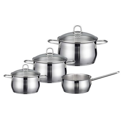 ELO Platin 4-Piece Stainless Steel Cookware Set