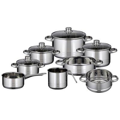 ELO Skyline 8-Piece Stainless Steel Cookware Set