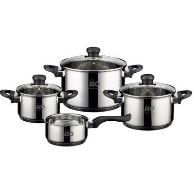 ELO Alpha 4-Piece Stainless Steel Cookware Set