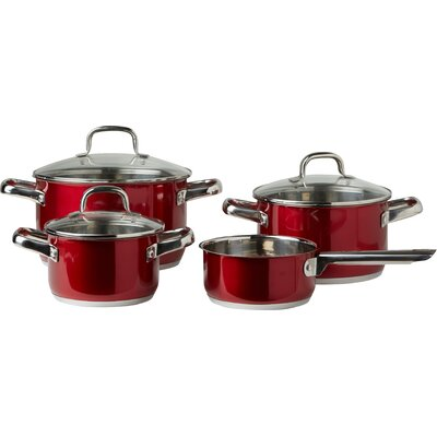 ELO 4-Piece Stainless Steel Cookware Set