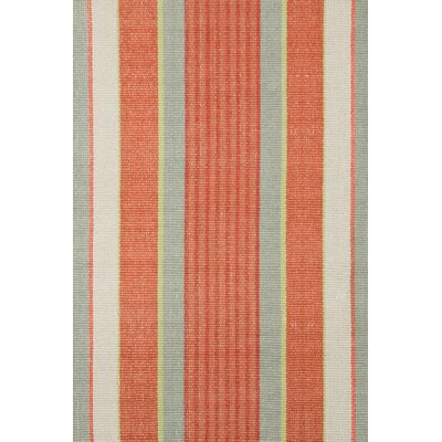 Dash and Albert Rugs Hand Woven Orange Area Rug