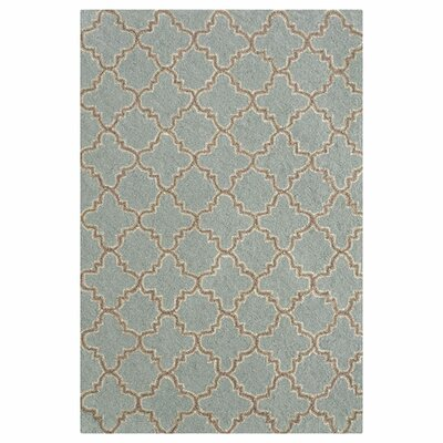 Dash and Albert Rugs Hooked Blue Area Rug