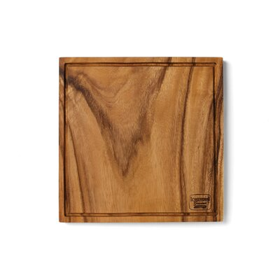 Wood Chopping Block Board with Groove
