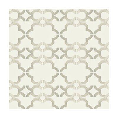 Kreme LLC Handcrafted Acorn Gate 16' x 23.5'' Trellis Wallpaper
