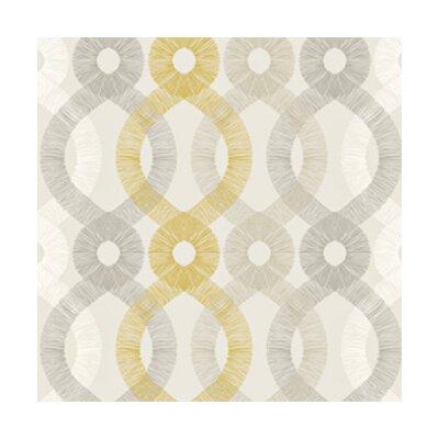 Kreme LLC Handcrafted Spiro 16' x 23.5'' Trellis Wallpaper