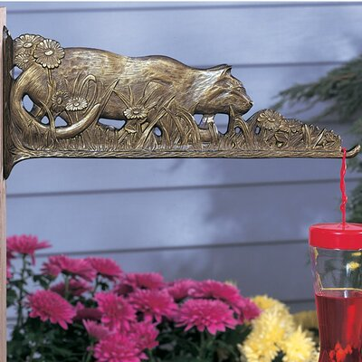 Cat Nature Wall Hook Finish: French Bronze