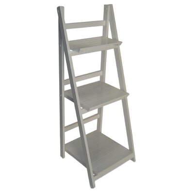Ladder Bookcase Finish: White