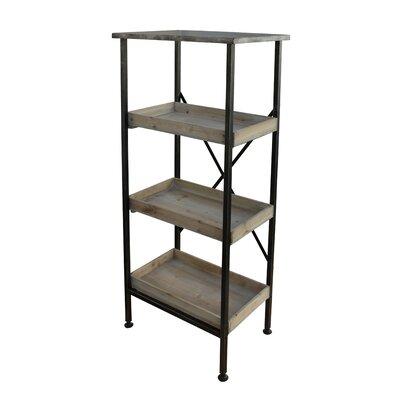 Metal Etagere Bookcase
