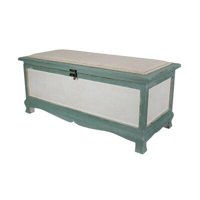 Atka Wood Storage Bench