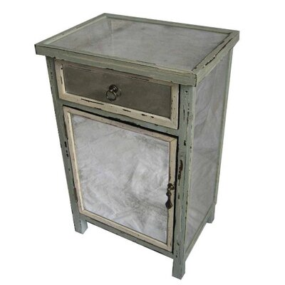 Cheungs Dirty Mirror 1 Drawer Cabinet