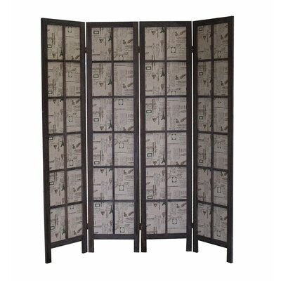 Baynes Paris 4 Panel Room Divider