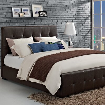 DHP Florence Upholstered Bed