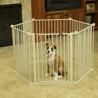 """Carlson Pet Products 28"""" Convertible Yard Exercise Dog Pen"""
