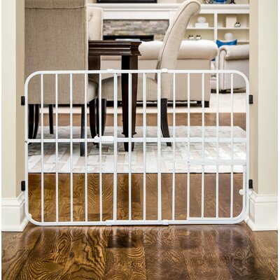 "Expandable Pet Gate Size: Tuffy (24"" H x 26-42"" W x 1"" D)"