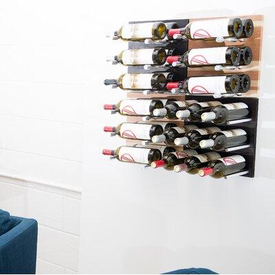 27 Bottle Wall Mounted Wine Rack