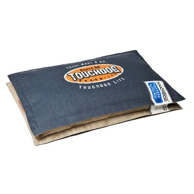"""Sporty Shock-Stitched Reversible Rectangular Thick Dog Mat Size: Large (31.5"""" L x 19.8"""" W), Color: Dark Blue"""
