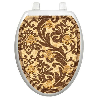 Toilet Tattoos Classic Tuscany Filigree Toilet Seat Decal