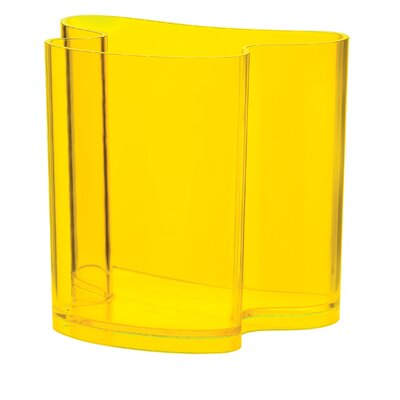 Casa Isola Magazine Rack Finish: Yellow