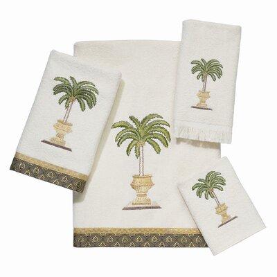 Avanti Linens Date Palm 4 Piece Towel Set