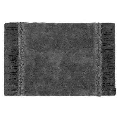 Braided Medallion Bath Rug Color: Granite