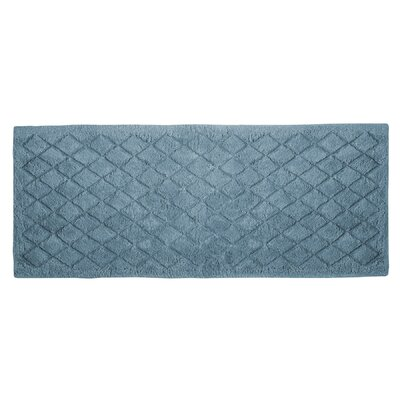 "Splendor Solid Bath Rug Size: 1"" H x 24"" W x 60"" D, Color: Mineral"