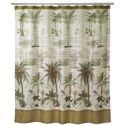 Shelborne Palm Shower Curtain