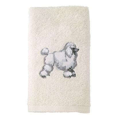 Poodle 100% Cotton Hand Towel