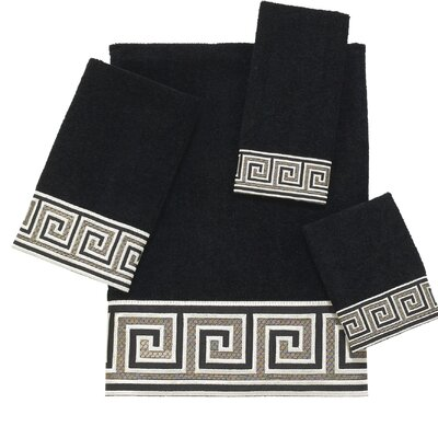 Eternity 4 Piece 100% Cotton Towel Set