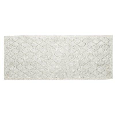 """Splendor Solid Bath Rug Size: 1"""" H x 24"""" W x 60"""" D, Color: White"""