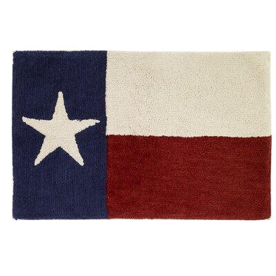 Texas Star Bath Rug