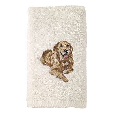 Golden Retriever 100% Cotton Hand Towel Set