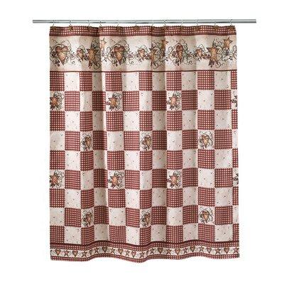 Culbert Hearts & Stars Shower Curtain