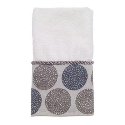 100% Cotton Fingertip Towel Color: White