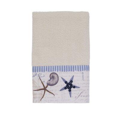 Antigua 100% Cotton Hand Towel Color: Ivory