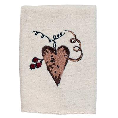 Hearts 100% Cotton Washcloth