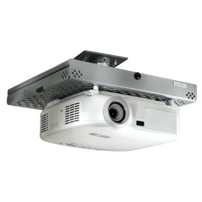 Universal Tray Style Projector Security Ceiling Mount Finish: Black