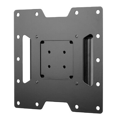"""Smart Mount Fixed Universal Wall Mount for 22""""- 40"""" Flat Panel Screens Finish: Black, Hardware: Phillips Head"""