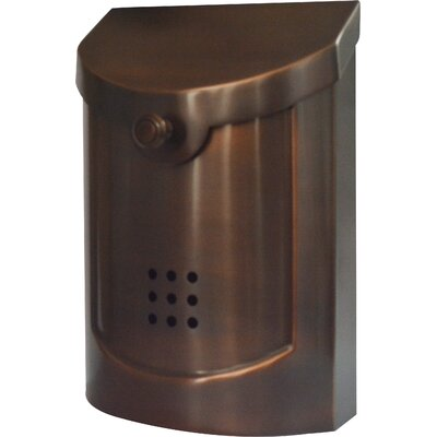 Wall Mounted Mailbox Finish: Antique Copper Plated, Size: Large