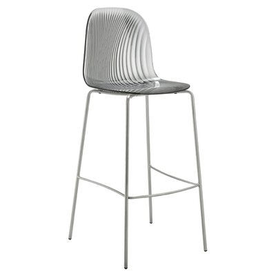 "Playa 26.5"" Bar Stool Upholstery: Transparent Smoke"