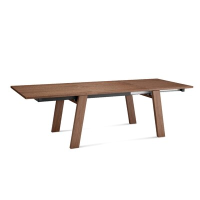 Must-xl Extendable Dining Table Finish: Walnut